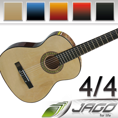 Full-Size-Acoustic-Concert-Classic-Guitar-4-4-Many-Different-Colours-Available