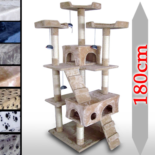 leopet-Cat-Kitten-Scratching-Post-Tree-Sisal-Climbing-Excercise-Activity-Centre