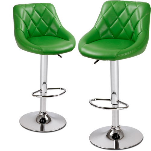 2 tabourets bar set tabouret chaise de bistrot design - Tabouret de bar couleur ...