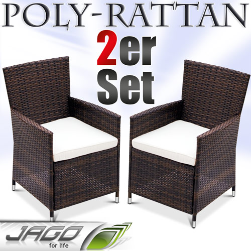 polyrattan rattan st hle stuhl gartenstuhl sessel rattanstuhl garten gartenm bel ebay. Black Bedroom Furniture Sets. Home Design Ideas