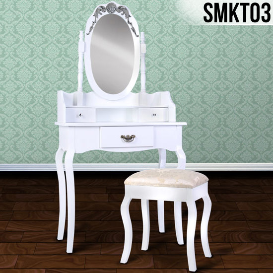 White-Dressing-Room-Table-Stool-Mirror-MakeUp-Drawer-Bedroom-Desk-Model-Choice