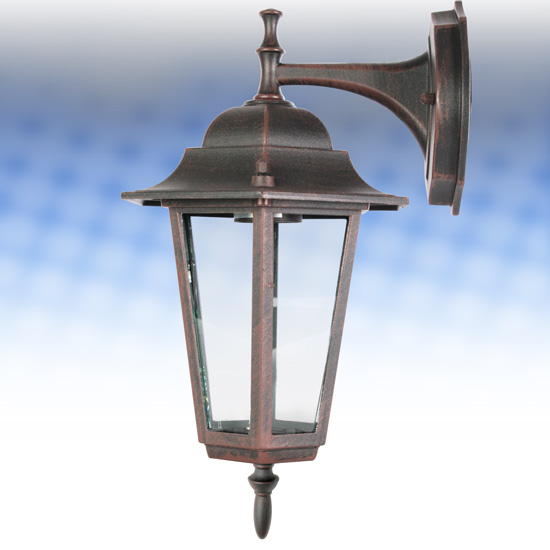 One Outdoor Wall Garden Lantern Light Home Exterior Lighting Patio Door Garage eBay
