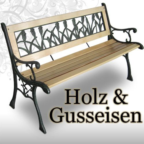 gartenbank gusseisen gebraucht 023815 eine. Black Bedroom Furniture Sets. Home Design Ideas