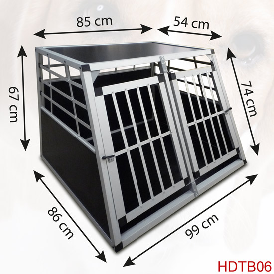 hundebox hund transportbox alubox box hundetransportbox. Black Bedroom Furniture Sets. Home Design Ideas