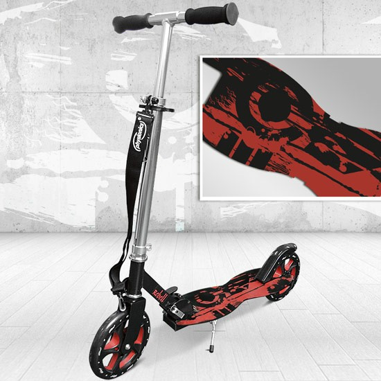Scooter-Tretroller-Kinderroller-Cityroller-BIG-Roller-Kinderscooter-205-Wheel-FW
